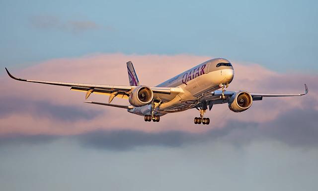 A7-AMJ - Airbus A350-941 - LHR