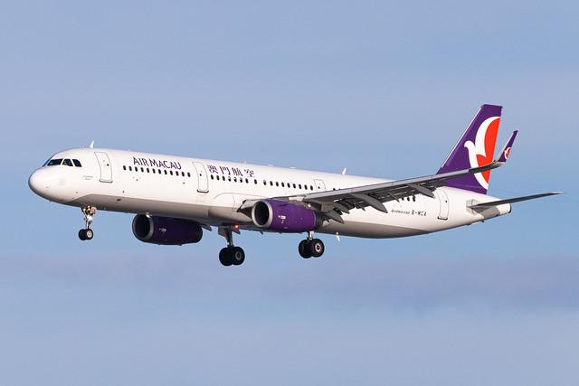AIR MACAU A321-231(WL) B-MCA 001