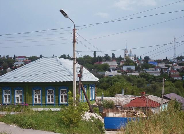 Vista cittadina con la Chiesa della Natività della Vergine