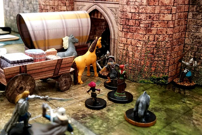 The caravan arrives at the gates of Waterdeep