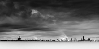 Texas City Dike - Refinery Storm | by Mabry Campbell