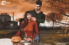 Kidding Pumpkin - Couple Bento Pose