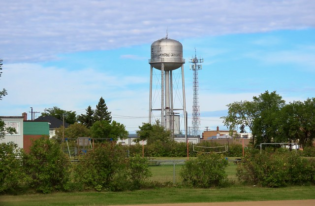 Day 3 -  Melfort SK to The Pas MB - Tisdale watertower