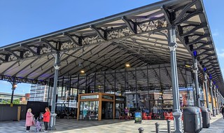 Canopy of the revamped Preston Market | by Tony Worrall
