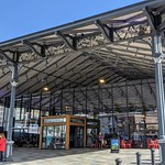 Canopy of the revamped Preston Market