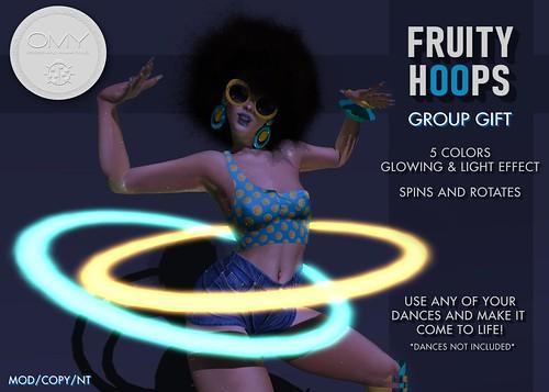 GROUP GIFT Fruity Hoops