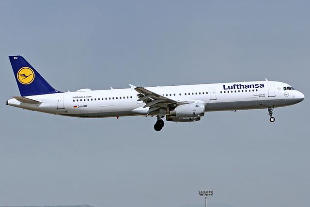 D-AIRU A321-131 Lufthansa  Barcelona-El Prat 05-05-17