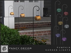 Pumpkin Garden Lights