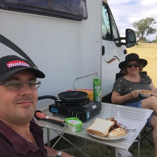 breakfast in the great outdoors