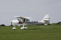 G-NIKS Aeropro Eurofox [BMAA HB 633] Sywell 010918