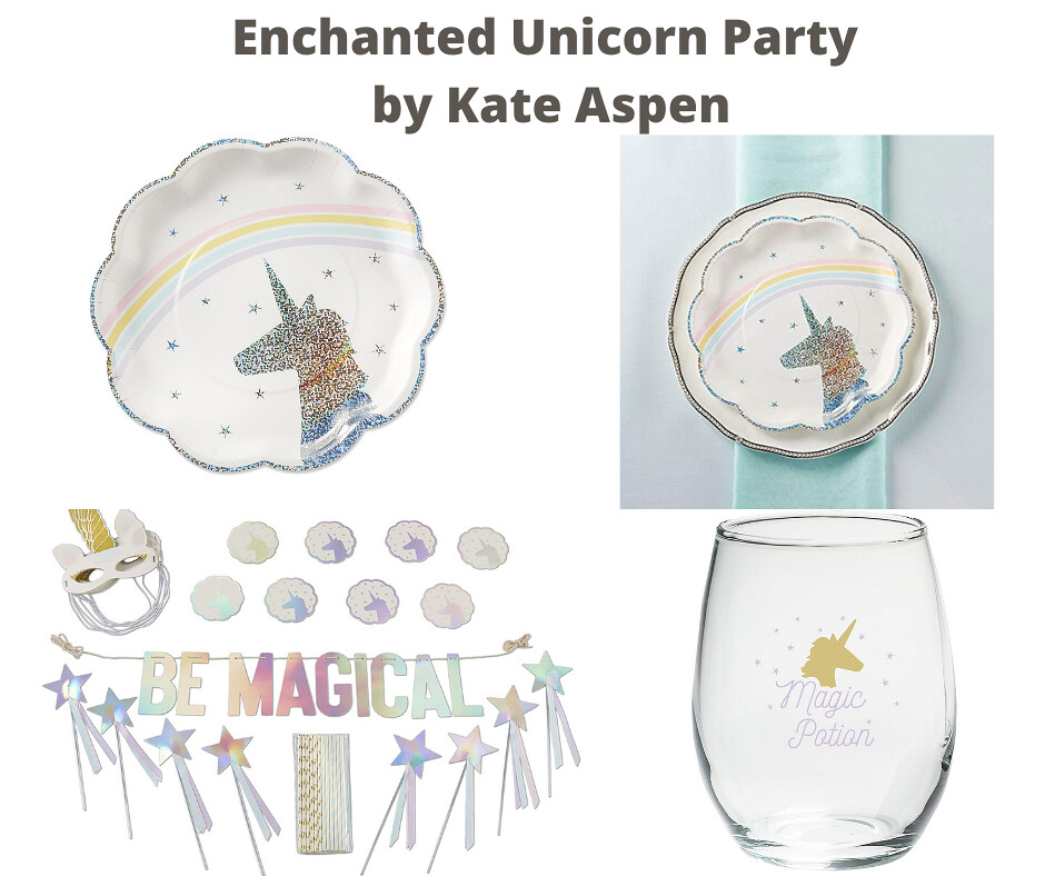 Enchanted Unicorn Party by Kate Aspen