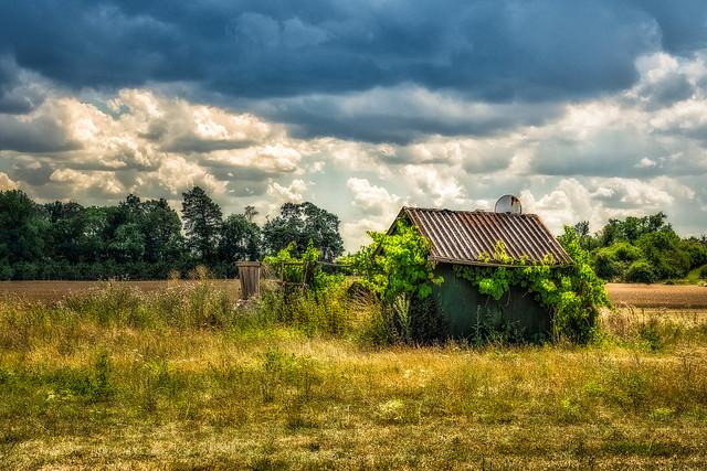 Strange little hut