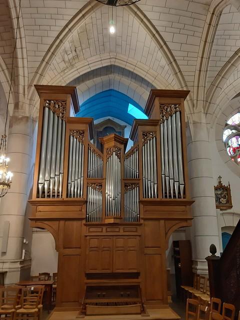 Orgue, église Saint Martin...Acigné