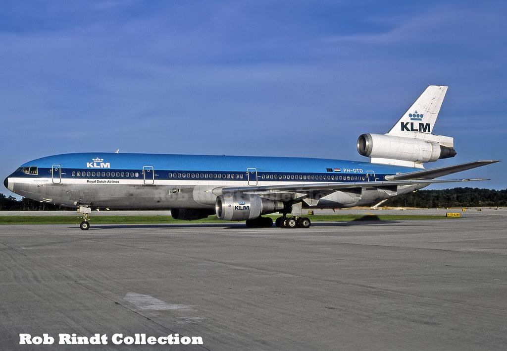 KLM DC-10-30 PH-DTD