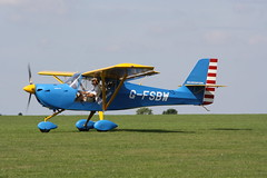G-FSBW Aeropro Eurofox [BMAA HB 678] Sywell 010918