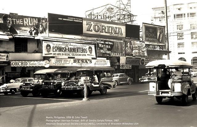 Manila, Philippines, 1958