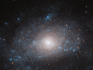 Hubble Views a Galaxy on the 'Dark Side' | by NASA Goddard Photo and Video