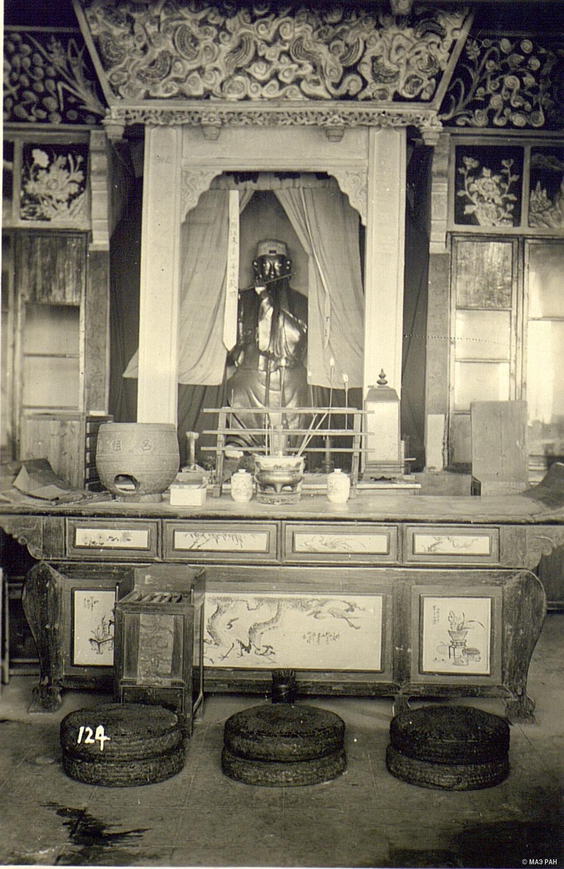 21. Алтарь в даосском храме