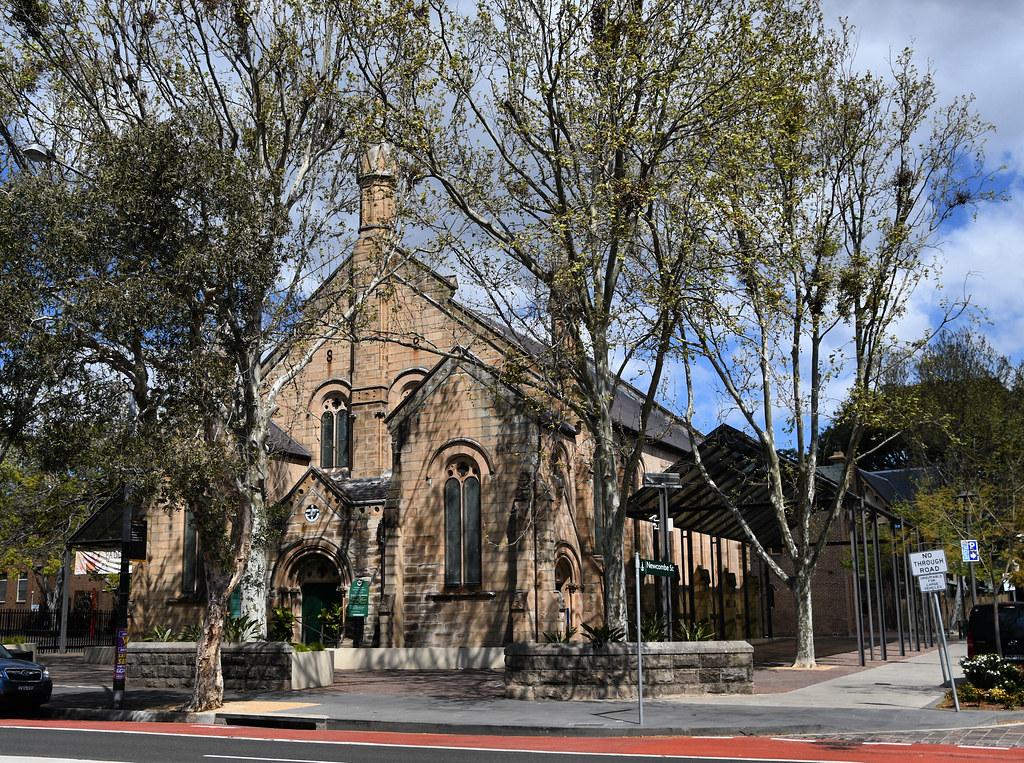 Paddington Uniting Church, Paddington, Sydney, NSW.