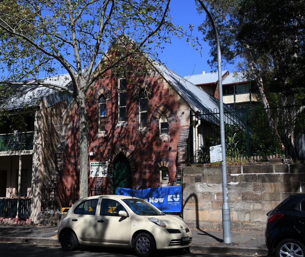 Former Church, Pyrmont, Sydney, NSW.
