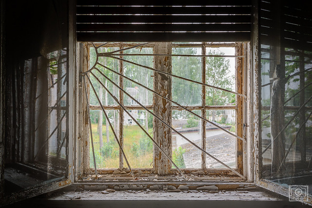 window grilles in soviet style