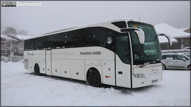Mercedes-Benz Tourismo – Transdev Nord (Transdev Hauts-de-France Voyages) n°711