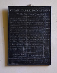 paid yearly out of a farm lying in Hartest the Instruction of poor Children in Reading, Writing and Arithmetic