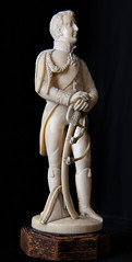 Carved Ivory Lafayette statuette