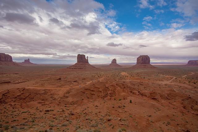 The fabulous Monument Valley, Utah / Arizona