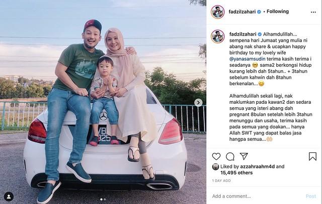 Pandai Sorok Perut, Yana Samsudin Hamil 8 Bulan Anak Kedua