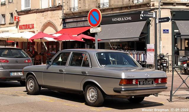 Mercedes W123 240D 1984