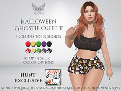 [Ari-Pari] Halloween Ghostie Outfit