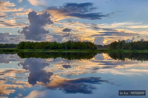 nature water clouds sunrise landscape florida wildlife hdr wetland wildliferefuge delraybeach wildlifesanctuary naturalarea greencay timazar canon7dmii