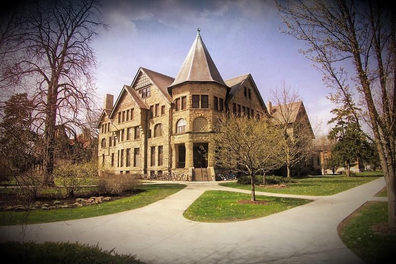 Oberlin Ohio ~ Talcott Hall ~ Kosher Halal Co-op ~ HIstoric ~ 1887 ~ Oberlin College