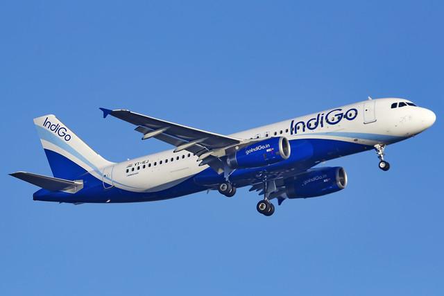 Indigo Airbus A320 VT-IEJ Mumbai (BOM/VABB)