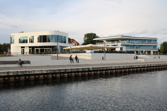 Senftenberg: Stadthafen am Senftenberger See