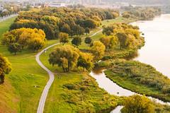 Bike road | Kaunas aerial