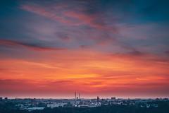 Morning sky | Kaunas aerial #270/365