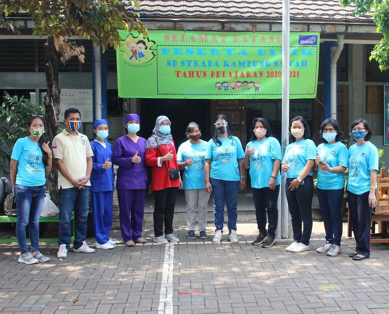 Kesehatan dan Kebersihan Siswa menjadi Prioritas (Imunisasi 2020)