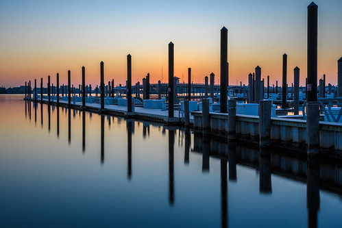 mantoloking newjersey jerseyshore longexposure dock sunrise dawn