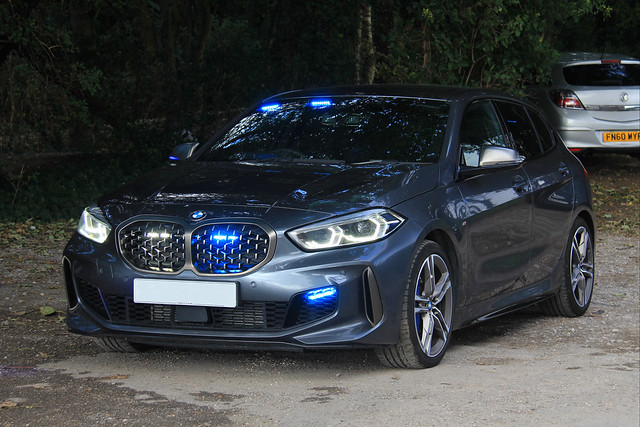 Humberside Police Unmarked BMW M135i xDrive Road Crime Team