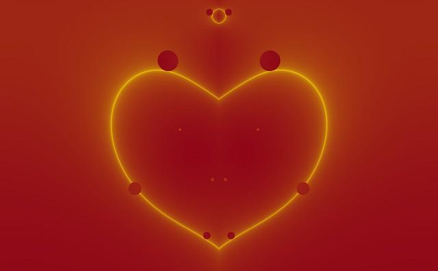 Perfect Fractal Heart
