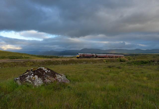 66743 Royal Scotsman Rannoch Moor 28th Aug 2020