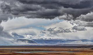 Snow Range View