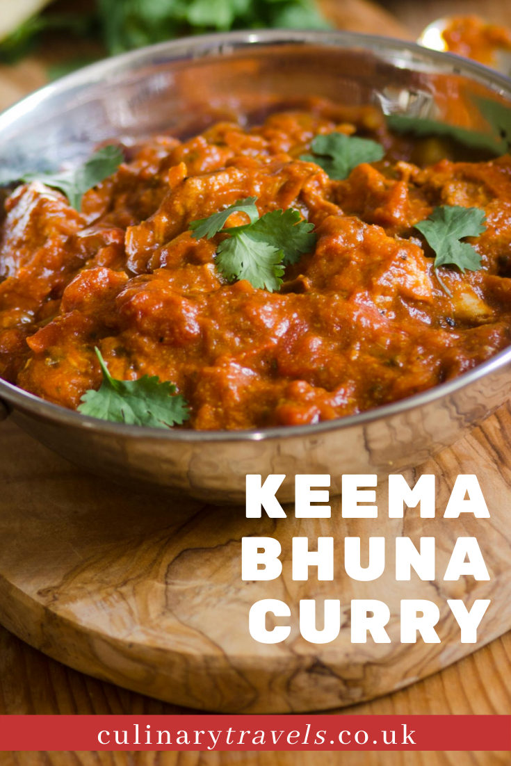 A gorgeous minced meat curry, slow cooked and full of flavour & medium heat.