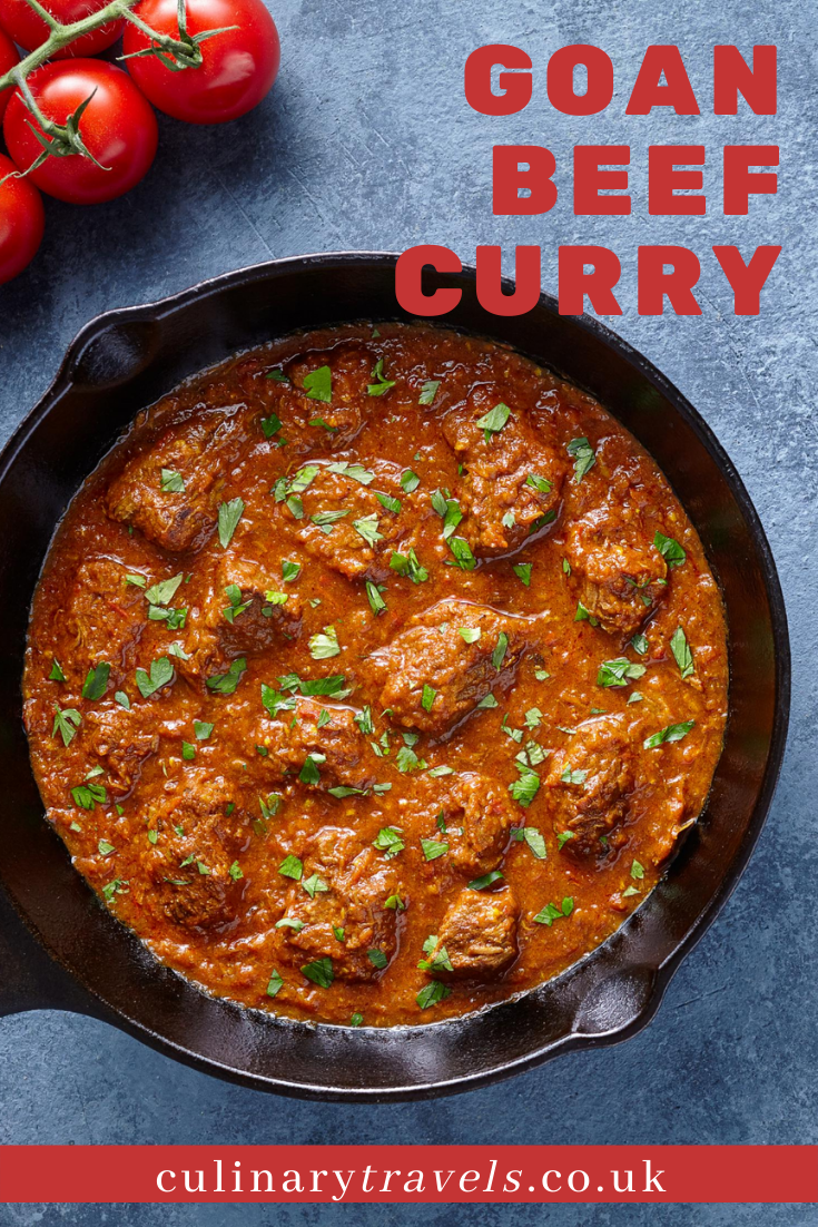 A deliciously easy, slow cooked Goan curry, made with coconut milk