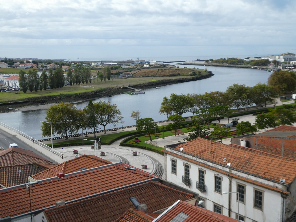 Views from the Monastery of Santa Clara, Vila do Conde