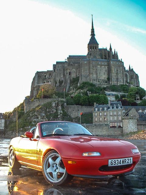 Mont Saint Michel sunshine