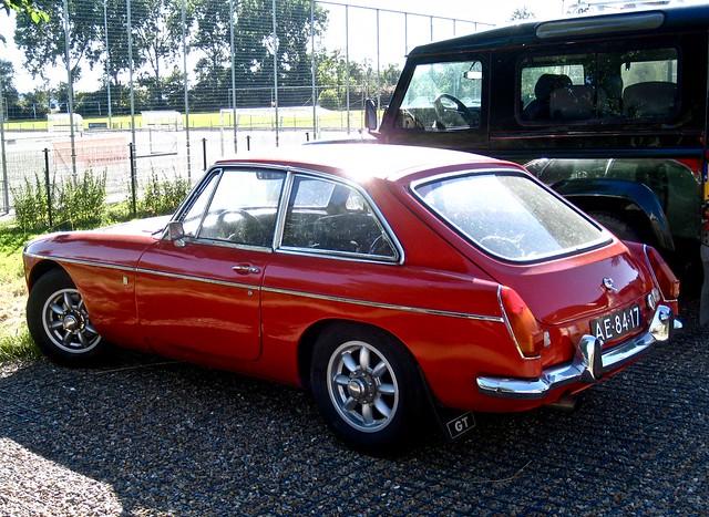 1972 MG B GT MkIII