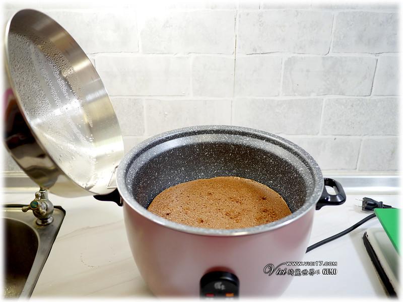 電鍋烤巧克力蛋糕